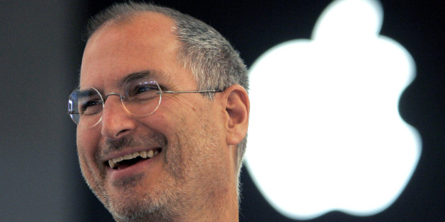 FILE - In this Sept. 20, 2005 file photo, Apple co-founder Steve Jobs smiles after a press conference as he opens the Apple Expo in Paris. Since his death in 2011, Jobs has been the subject of documentaries, books, a film, even a graphic novel. Now the technology pioneer will be the focus of an upcoming opera. In front of the Sangre de Cristo mountains in northern New Mexico, the Santa Fe Opera announced Wednesday, Aug. 5,  that its latest commission will be based on the man who helped revolutio