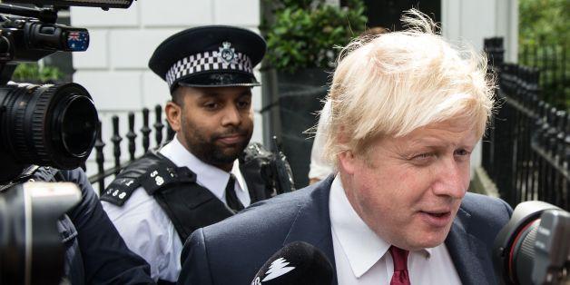 Boris Johnson steht nach dem Brexit-Referendum unter Polizeischutz