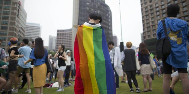 6월 11일 서울광장에서 열린 제17회 퀴어문화축제