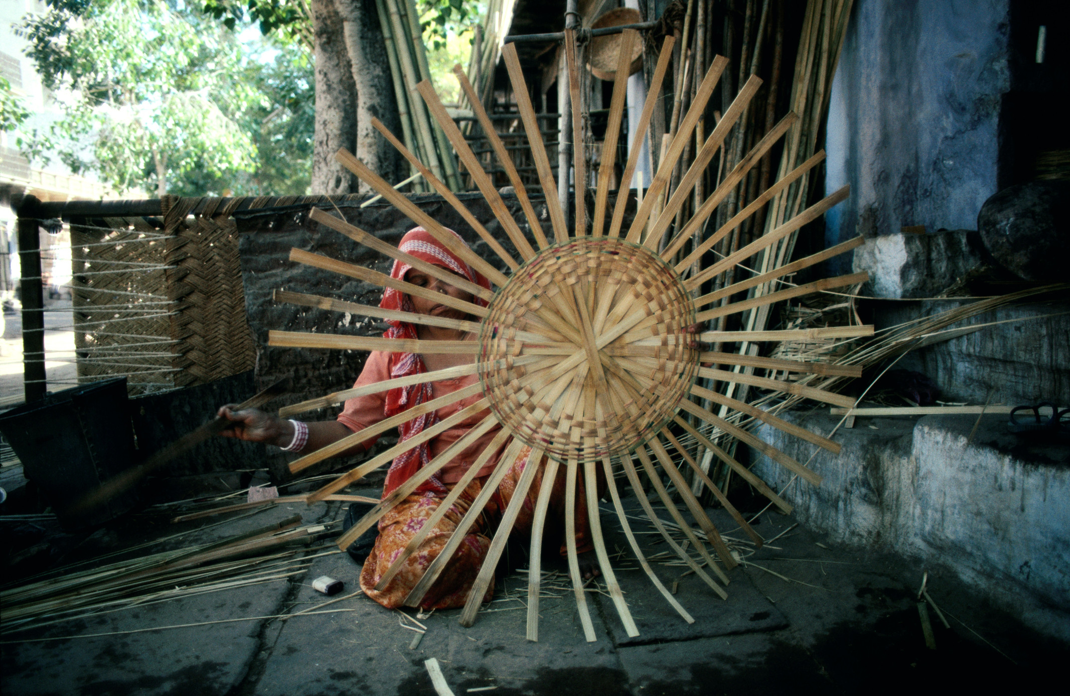 bamboo weave india