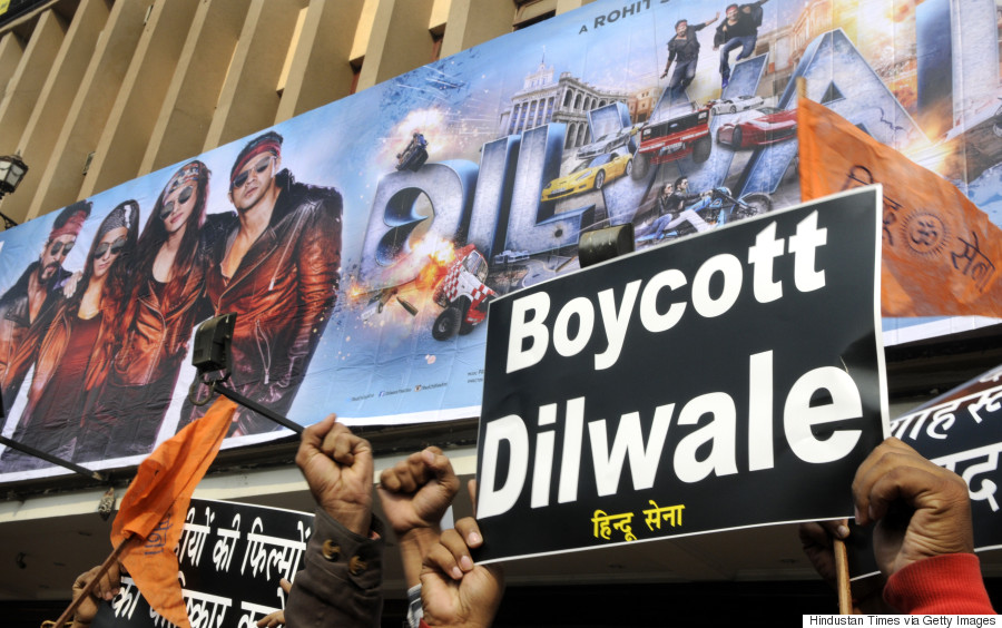 dilwale protests