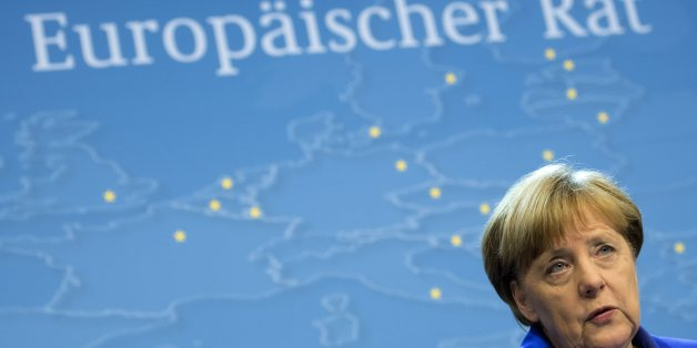 BRUSSELS, BELGIUM - JUNE 29, 2016: Angela Merkel pictured during her press conference at the European Summit on June 29, 2016 in Brussels, Belgium.(Picture by Christophe Licoppe/Photonews via Getty Images)