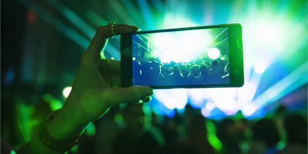 Ist bald das Filmen auf Konzerten nicht mehr möglich?