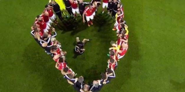 Mit Herz: So feiert Wales die EM-Sensation