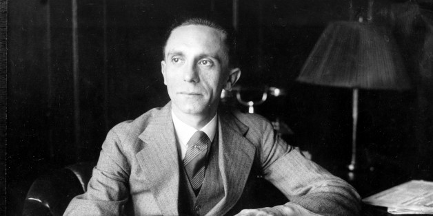 Joseph Goebbels, Third Reich Commissioner for Radio and Propaganda, is shown in the 1930s.  (AP Photo)