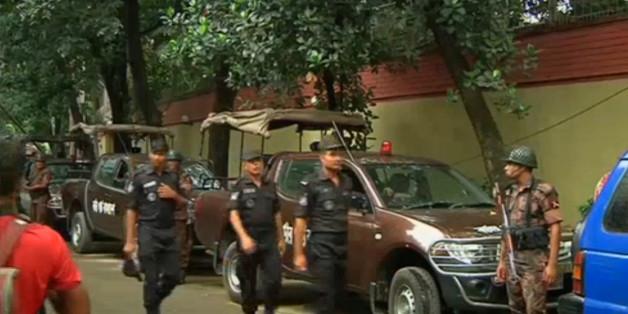 20 corps, la plupart tués brutalement à coup d'armes tranchantes ont été retrouvés au Holey Artisan restaurant