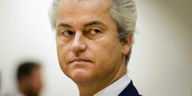Wilders möchte keine gläubigen Muslime in den Niederlanden haben.