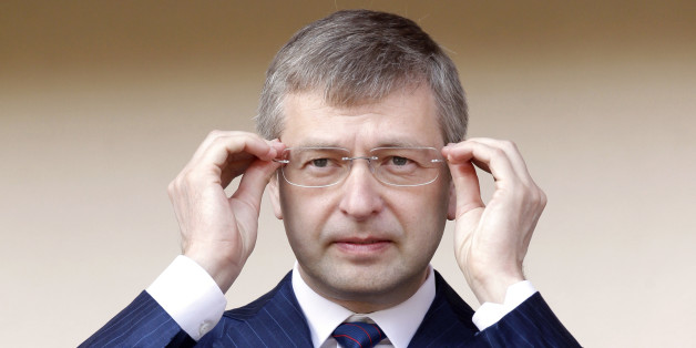 President of the football club AS Monaco, Dmitry Rybolovlev attends the french league two soccer match Monaco vs Caen, Saturday, May 4, 2013, in Monaco stadium. (AP Photo/Lionel Cironneau)