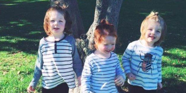 Mutter rechnet mit Kritikern ab, die denken, dass die Haare ihrer Söhne zu lang wären.
