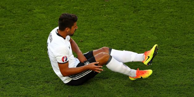 Khedira verletzte sich gegen Italien.