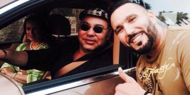 Quand Reda Taliani pose avec le roi (PHOTOS)