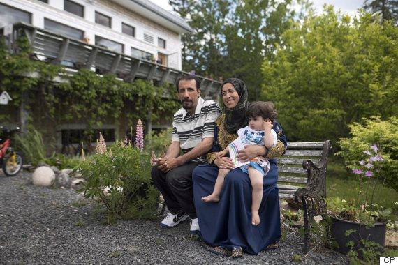syrian refugees ziad zeina wafaa al safadi