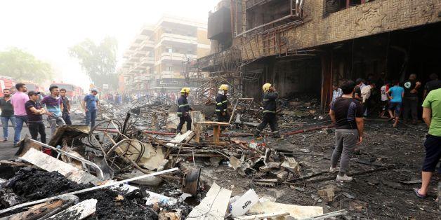 Le bilan de l'attentat à Karrada à Bagdad ne cesse de s'alourdir