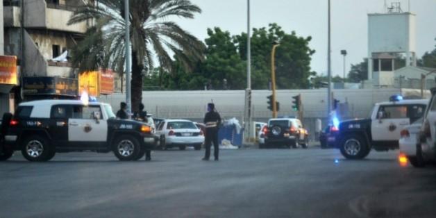 Les faits se sont produits sur le parking de l'hôpital Dr Suleiman Faqeeh lundi à 02h15 heure locale (23h15 GMT dimanche)