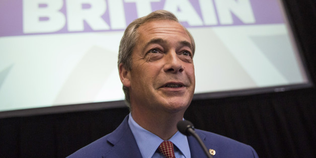 LONDON, ENGLAND - JULY 04: UKIP Leader Nigel Farage speaks at a press conference at the The Emmanuel Centre on July 4, 2016 in London, England. Mr Farage today said he would be standing down as leader of UKIP during a press conference to outline his party's plan for 'Brexit' following the referendum which saw the United Kingdom vote to leave the European Union. (Photo by Jack Taylor/Getty Images)