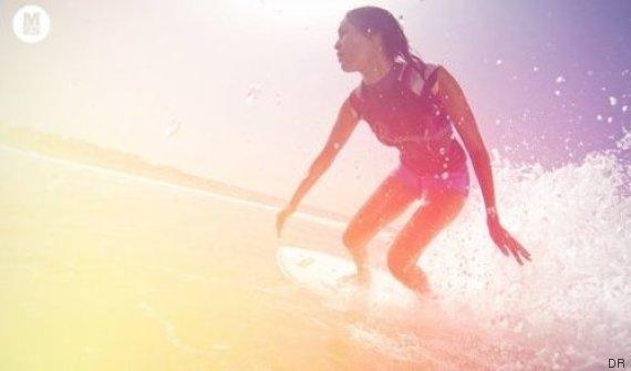 working surfgirl