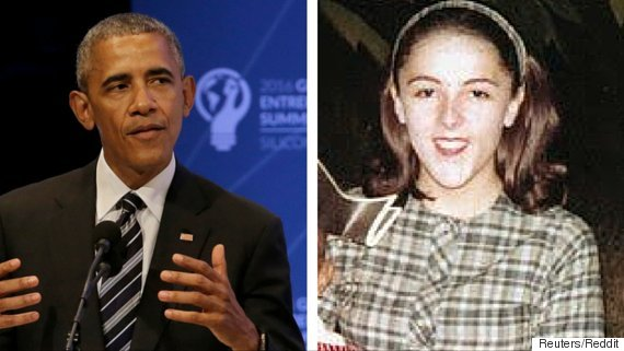 Barack Obama Mom Proof U S President Is The Spitting Image Of His