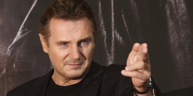 "Actor Liam Neeson poses before a news conference to promote his movie, ""Taken 2"" in Seoul September 17, 2012.   REUTERS/Kim Hong-Ji (SOUTH KOREA - Tags: ENTERTAINMENT)"