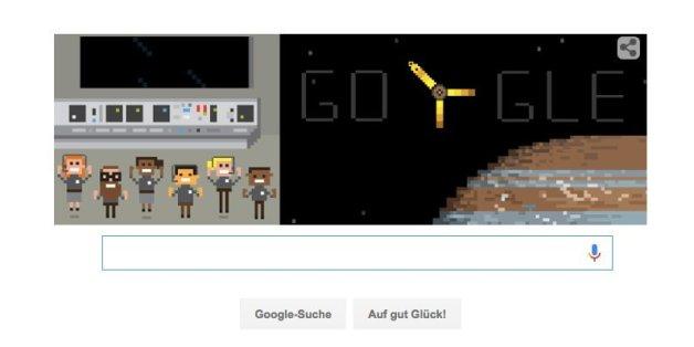 Google Doodle zu Junos Erfolg