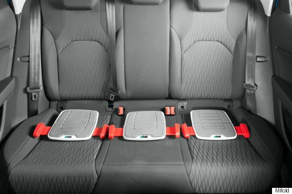 Mifold \'Grab-And-Go\' Booster Could Be The Solution To Car Seat Struggles