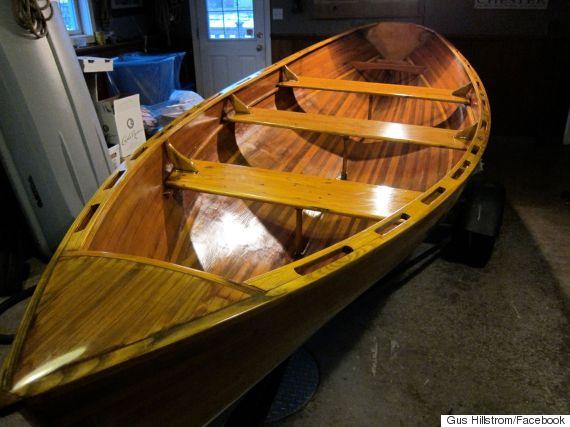 gus hillstrom pei rowboat
