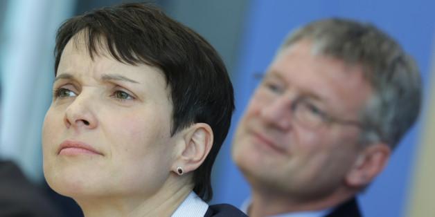 Die beiden Afd-Vorsitzenden Frauke Petry und Jörg Meuthen