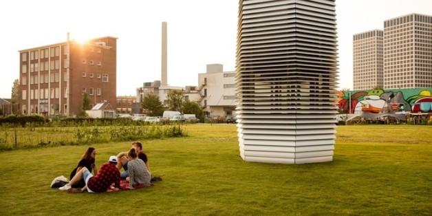 Dieser Turm macht's möglich: Aus Gift werden Schmuckstücke