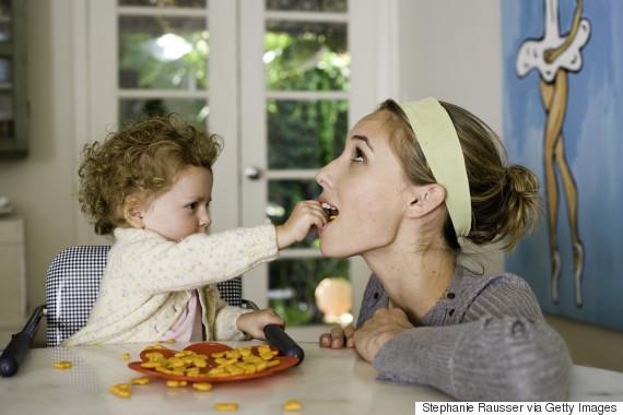 parents children food