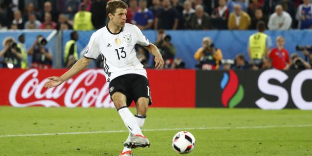 Thomas Müller gehört wohl wieder zur deutschen Startelf, wenn Deutschland im EM-Halbfinale auf Frankreich trifft