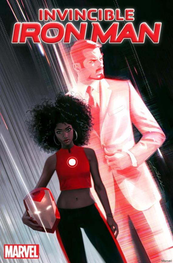 nouvel iron man femme noire