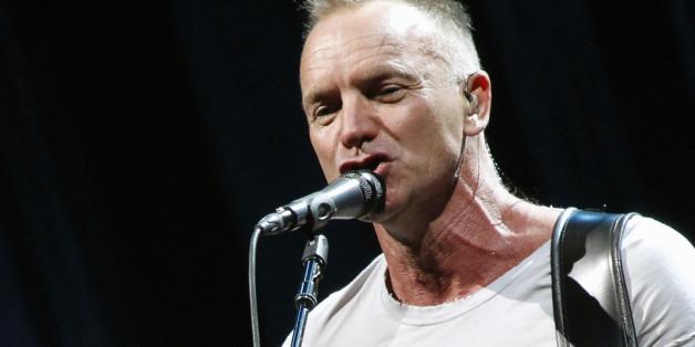 Sänger Sting hat mit dem Flüchtling Thabet Azzawi ein Lied aufgenommen