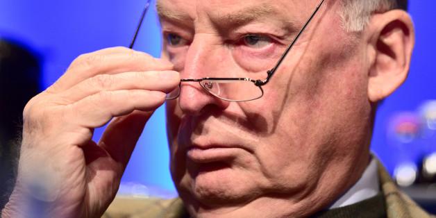 Alexander Gauland gibt Petry die Schuld an der Spaltung der Fraktion in Baden-Württemberg