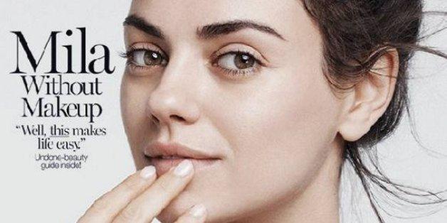 Mila Kunis ne se maquille pas