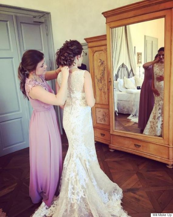 Pregnant Brides Glow In Stunning Pictures