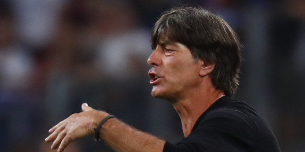 Football Soccer - Germany v France - EURO 2016 - Semi Final - Stade Velodrome, Marseille, France - 7/7/16 Germany head coach Joachim Low  REUTERS/Kai Pfaffenbach Livepic