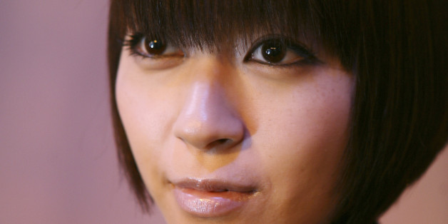 Japanese singer Hikaru Utada poses for a portrait for Reuters in New York, February 12, 2009.  REUTERS/Carlo Allegri   (UNITED STATES)