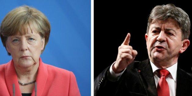 Angela Merkel steht unter Beschuss.