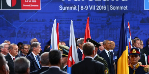 Die Nato beschloss in Warschau ein härteres Vorgehen gegen Russland