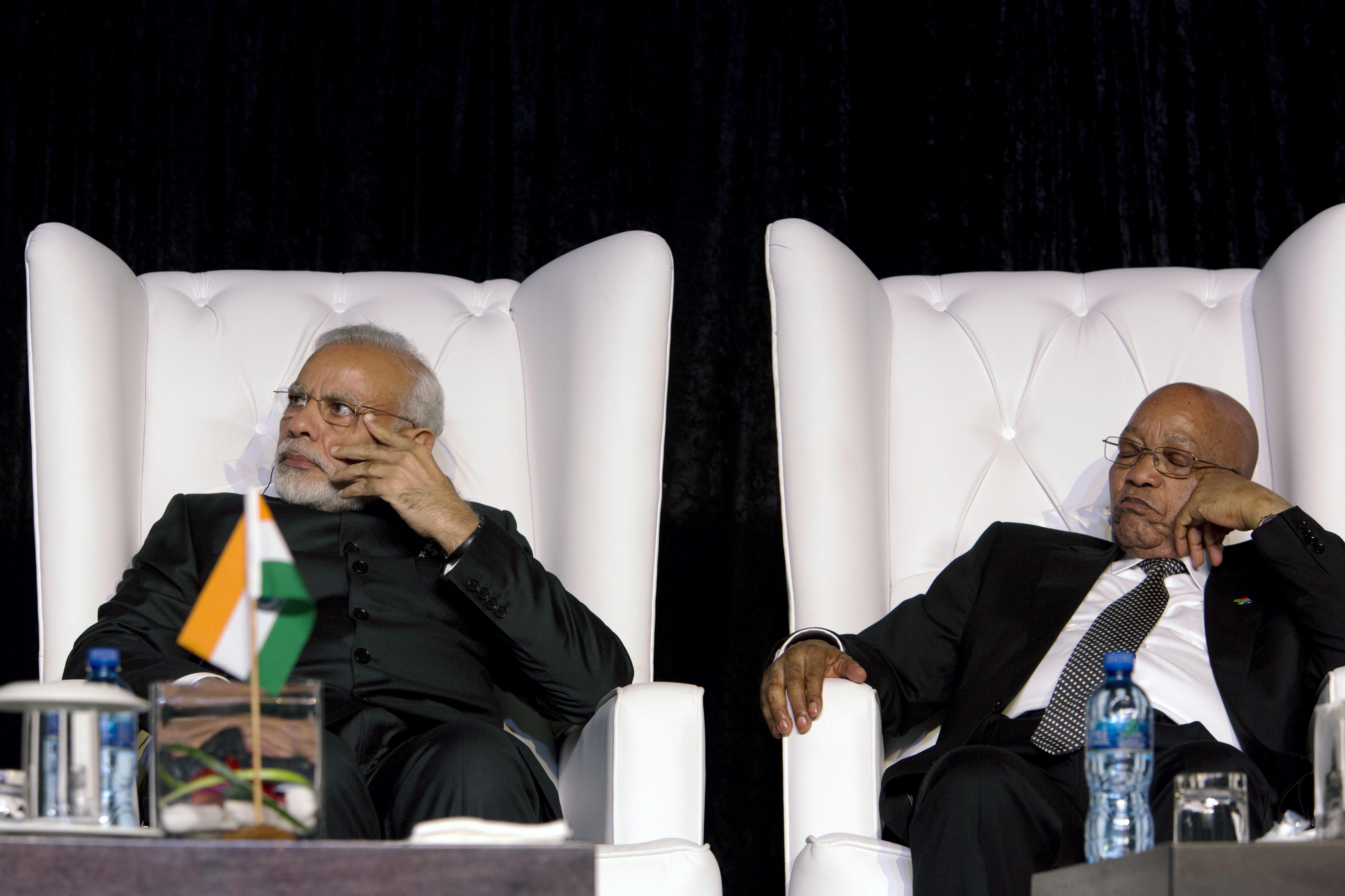 narendra modi africa