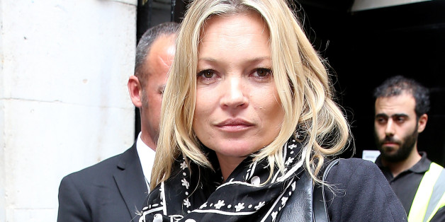 Kate Moss modelt für Nick Knight