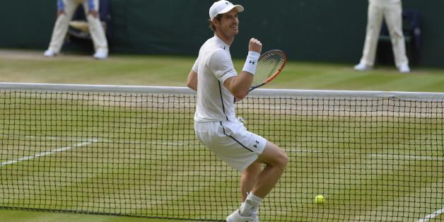 Andy Murray steht im Wimbledon-Finale