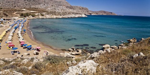 agathi beach rodas island