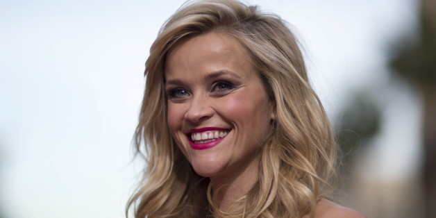 "Cast member Reese Witherspoon poses at the premiere of ""Hot Pursuit"" in Hollywood, California April 30, 2015. The movie opens in the U.S. on May 8.  REUTERS/Mario Anzuoni"