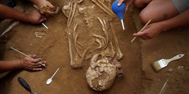 Forscher haben einen Friedhof gefunden, der das größte Rätsel der Bibel lösen könnte