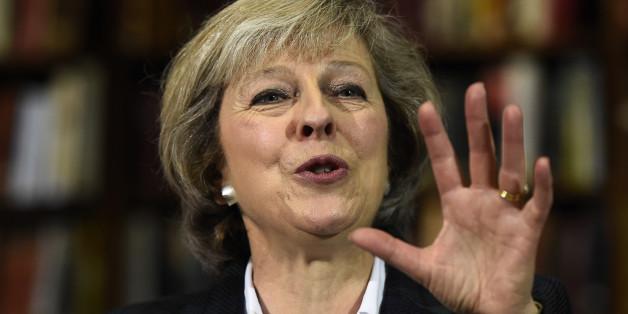 Die designierte Premierministerin Theresa May