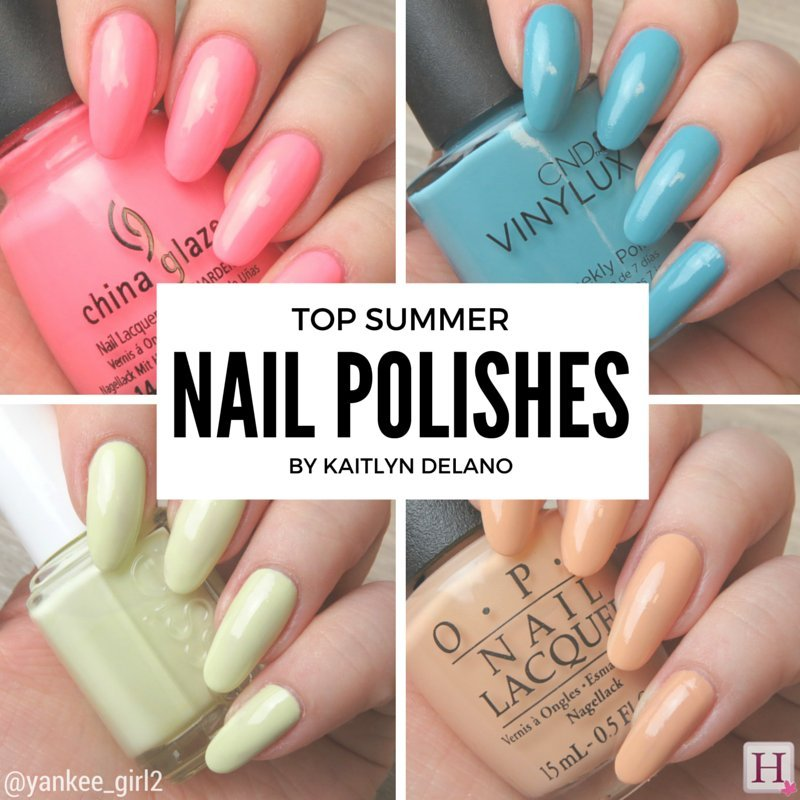 Top Summer Nail Polish Colours