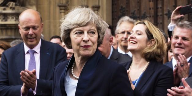 Theresa May wird heute das Amt der Premierministerin übernehmen