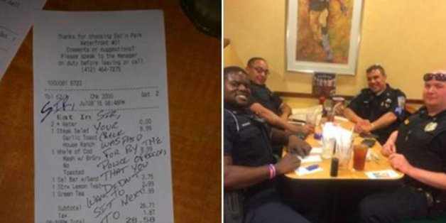 Er wollte nicht neben den Polizisten im Restaurant sitzen – dann bekam er die Quittung dafür