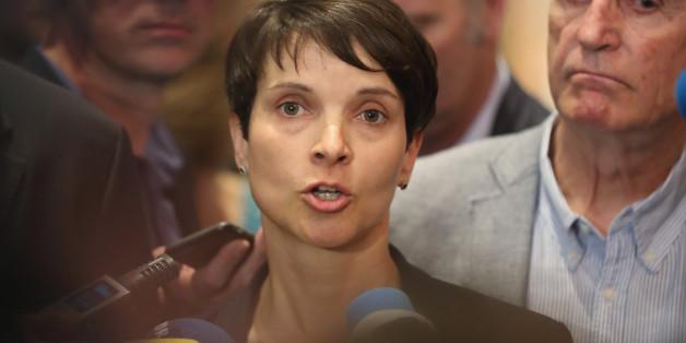 Parteichefin Frauke Petry steht in der Kritik -  ihre Partei verliert an Zustimmung