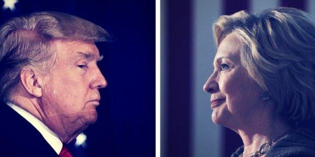 Trump und Clinton konkurrieren nur darum, wer das kleinere Übel ist